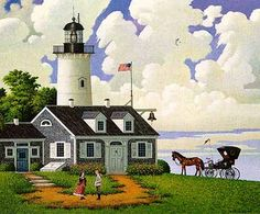 CHARLES WYSOCKI Jayson Sparkin' The Lighthouse Keepers Daughter.