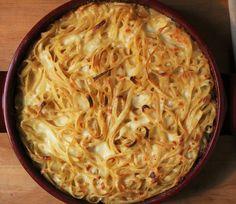 A delicious dish ready in 30 minutes! From #Abruzzo...#Spaghetti with #mozzarella #cheese