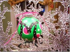 Christmas Crafts - Bulbs 029