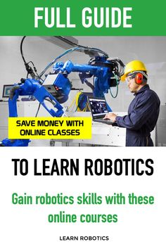 Gain skills in robotics without leaving your home! Affordable online robotics classes to help you Learn Robotics. website 7 Courses to Learn PLC Programming Online Robotics Projects, Robotics Engineering, Plc Programming, Learn Robotics, Educational Websites, Textbook, Online Courses, Gain, Homeschool