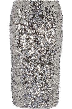 By Malene Birger|Poliio sequined pencil skirt|NET-A-PORTER.COM $550