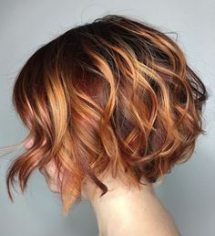 60 Best Short Bob Haircuts and Hairstyles for Women - Two-Tone Wavy Bob Source . - 60 Best Short Bob Haircuts and Hairstyles for Women – Two-Tone Wavy Bob Source by anitasollars – Bob Haircuts For Women, Short Bob Haircuts, Haircut Short, Layered Haircuts, Page Haircut, Haircut Style, Style Hair, Pixie Bob Haircut, Wavy Bob Hairstyles