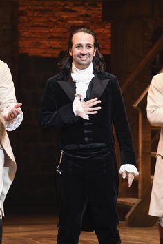 Unlike many of the other upcoming musical movies, the just-announced Hamilton film isn't a re-cast, adapted movie. Instead, it's a theatrical release of a Leslie Odom, Jasmine Cephas Jones, Christopher Jackson, Daveed Diggs, Anthony Ramos, Hamilton Broadway, Broadway Plays, Lin Manuel Miranda