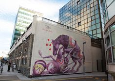 "ZED1 unveils ""Love your master"" in Cardiff, Wales For Empty Walls Festival"