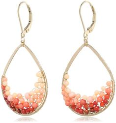 Dana Kellin Bubbly Coral and Carnelian Mosaic Teardrop Earrings DANA KELLIN,http://www.amazon.com/dp/B00BIBRDX2/ref=cm_sw_r_pi_dp_0ZIbsb0VMBTP7P3V