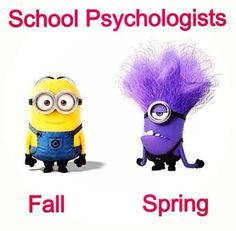 School Psychology fun subjects in college