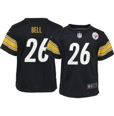 Nike Boys' Home Game Jersey Pittsburgh Steelers Le'Veon Bell #26 - Dick's Sporting Goods