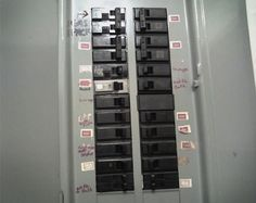 Organize Label Your Circut Breaker Box Circuit Don T Forget To Fuse