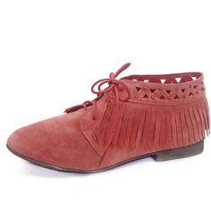 Women's Breckelle's Sandy-24 Laced Up Oxford Fashion Shoes