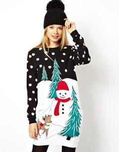 Foute Kersttrui Jurk.34 Beste Afbeeldingen Van Kersttruien Xmas Christmas Sweaters En