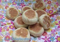 Zsemle villámgyorsan (Gluténmentesen is) recept foto Hamburger, Ale, Recipies, Bread, Cookies, Breakfast, Desserts, Foods, Recipes