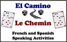 El Camino/Le Chenin is an engaging and interactive speaking activity that students can do in pairs or small groups. Very quick set-up with no prep needed.