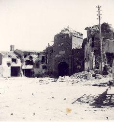 1Belchite Despues de los Bombardeos 1937