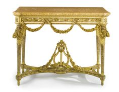 A North Italian Neoclassical carved giltwood console table, circle of Giuseppe Maria Bonzanigo, possibly by Bartolomeo Manghetti or Francesco Bolgié<br>Piedmont, late 18th century   Lot   Sotheby's