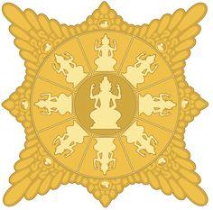 Surya Majapahit Gold.svg Polynesian People, Indonesian Art, East India Company, Asian Art, Southeast Asia, Architecture Art, Mythology, Dutch, Religion