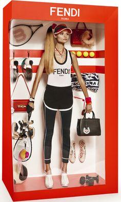 Элизабет ERM, Магдалена Фронцковяк Джампаоло Sgura для Vogue Paris декабрь-январь 2014-2015 9