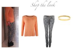 Shop the look: Trui summer, star jeans, love bracelet  http://www.everythingisfashion.nl/fashion.html
