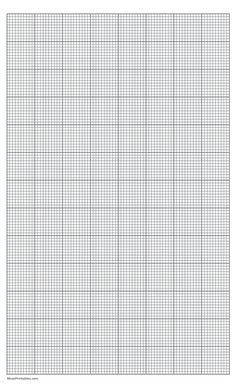 Printable 10 Squares Per Inch Gray Graph Paper for Legal Paper Knitting Graph Paper, Graph Paper Art, Pattern Paper, Graph Crochet, Cross Stitch Bookmarks, Cute Cross Stitch, Printable Graph Paper, Free Printable, Wedding Cross Stitch Patterns