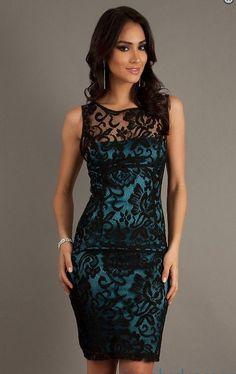 Vestidos de Encaje Cortos - Para Más Información Ingresa en: http://imagenesdevestidosdenovia.com/vestidos-de-encaje-cortos/: