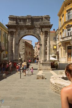 Pula, Croatia... my late aunt lived there, magical place that holds so many memories...