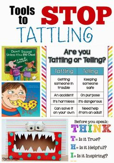It's a Long Story: Tools for Stopping the Tattling