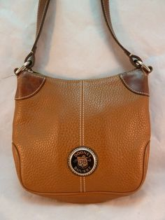 Dooney & Bourke Purse Shoulder Bag Pebbled All Weather Leather Long Strap X Body #DooneyBourke #ShoulderBag