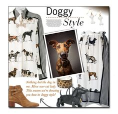 """""""Doggy Style🐶"""" by sherieme ❤ liked on Polyvore featuring STELLA McCARTNEY, Allurez, Thom Browne, Yves Saint Laurent, animalprint and doggyprint"""
