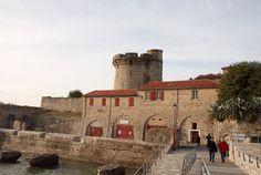 Ciboure (Pyrénées Atlantiques) - ville voisine de St-Jean de Luz - le Fort de Socoa - oeuvre de Vauban - XVIIème