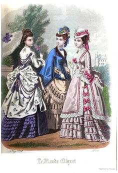 Le Monde Elégant 1873 May