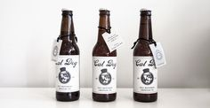 Fete Studio Custom Stationery -Wedding Favors (Custom Beer Labels) www.fetestudio.com