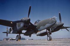 Vintage Pinups & WWII Nose Art — supermarketsecurity:  P38 Lightning belonging to...
