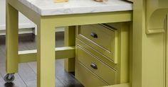 uttrekkbar kjøkkenbenk