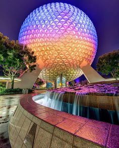 "Epcot ""The Curve of Spaceship Earth  Having shot in the parks for several years now, Spaceship Earth continues to offer some of my favorite photo opportunities.…"""
