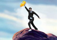 David Tennant in places he shouldn't be.  Best thing ever(:
