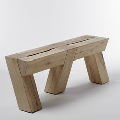 Raw Wood Table Benches Ideas For 2019 Diy Wood Projects, Furniture Projects, Garden Furniture, Rustic Outdoor Furniture, Timber Furniture, Antique Furniture, Raw Wood, Rustic Wood, Solid Wood
