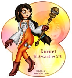 Practice drawing Now, this time the princess of Alexandria from Final Fantasy IX - Garnet A practice drawing for the character studies since I've bee. FF IX - Garnet Til Alexandros XVII Drawing Now, Drawing Practice, Final Fantasy Ix, Garnet, Wonder Woman, Deviantart, Granada, Drawing Exercises, Wonder Women