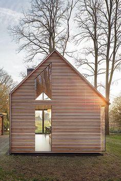 Architektur: Ein cleveres Ferienhaus in Holland   KlonBlog