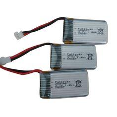 Дешевое 3 X 3.7 В 380 мАч аккумулятор для Hubsan X4 H107 H107L H107C H107D V252 JXD385, Купить Качество Запчасти и аксессуары непосредственно из китайских фирмах-поставщиках:             3x3.7 В 380 мАч Аккумулятор для Hubsan X4 H107 H107L H107C H107D V252 JXD385