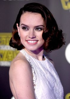 Pin for Later: The Force Is Strong at the Star Wars LA Premiere — See All the Arrivals!  Pictured: Daisy Ridley