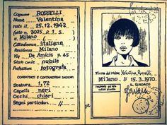 la Carta d'identità di Valentina