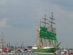 Tall ship the Alexander von Humboldt II