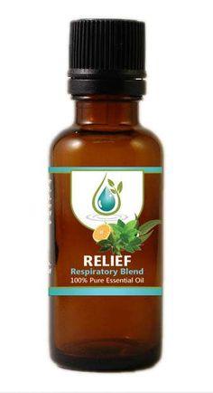 RELIEF - Respiratory Blend (Therapeutic Grade) - 10ml