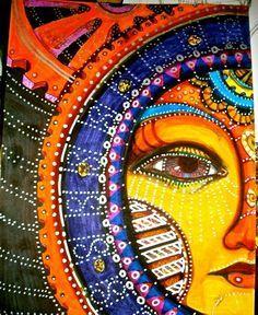 colorful art sun - Cerca con Google