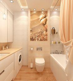 интерьер ванной комнаты в морском стиле - Поиск в Google