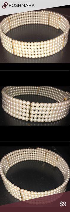 Women Pearl Choker Women Generic Pearl Choker Jewelry Necklaces
