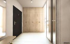 ARCHILAB architekti - interiér vo vilovom dome Záhrady Devín, Bratislava - vstupný priestor Bratislava, Architekti, Entrance, Divider, Room, Furniture, Home Decor, Projects, Bedroom
