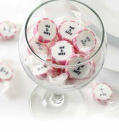275g ca 50St Hochzeitsbonbons Mr and Mrs pink Gastgeschenke Hochzeit Hochzeitsmandeln von Gastgeschenke by shopingeneur GbR, http://www.amazon.de/dp/B00A1SONGI/ref=cm_sw_r_pi_dp_6G57sb15Z7ESH