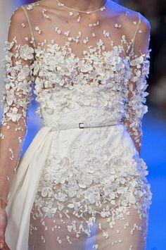 But --- longer torso coverage? Fashion Passion Obsession: Elie Saab - Haute Couture kolekcija 2014.