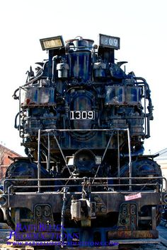 CO 4-6-6-4 locomotive 1309 at the BO Railroad Museum. Sister locomotive 1308 sits at the Collis P. Huntington Railroad Historical Society's museum yard in Huntington, WV.