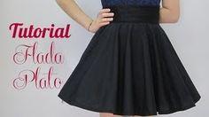 tutorial para hacer falda circular - YouTube